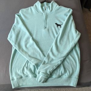 Teal blue PINK sweater